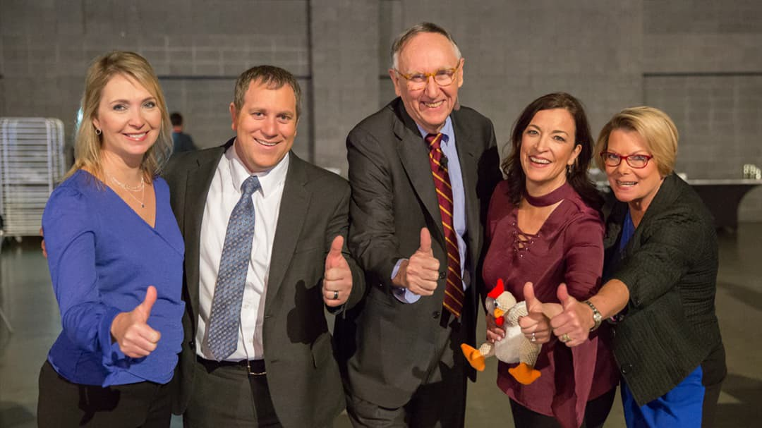 Number seventy-five of 101 ways to participate in GIS day: Share your photo with Jack Dangermond, using the hashtag #GISDay.